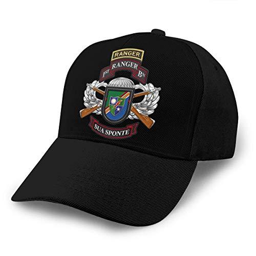 Lsjuee 1st Ranger Battalion Army Rangers Gorra de béisbol Ajustable