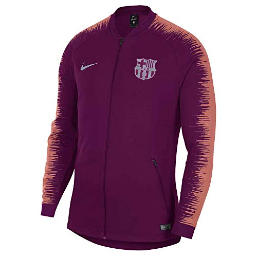 Nike 2018-2019 Barcelona Anthem Jacket (Deep Maroon)