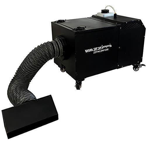 ZZIPP LOW FOG MACHINE 1200W Máquina de humo bajo denso que permanece en tierra