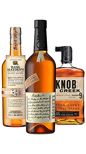 Bourbon & American Whiskey - Small Batch 3 x 70cl Bourbon Gift Collection - Whiskey