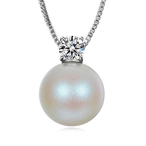 Collana Donna, Collana Perle, con Perle di Swarovski, regalo donna, gioielli donna