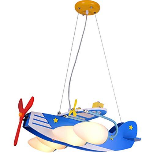 YFNB Augenschutz LED Deckenleuchte, Cartoon Pendelleuchte Für Kinderzimmerlampe Flugzeuge Kronleuchter...