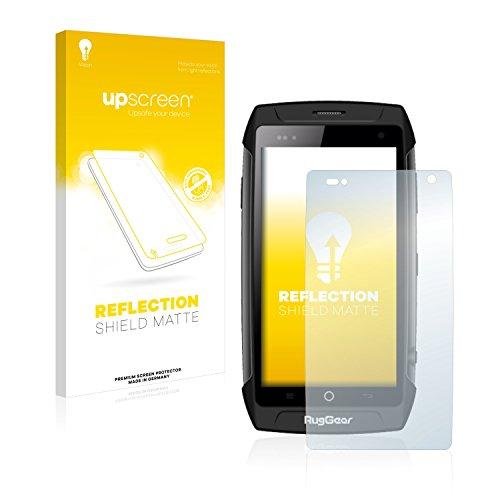 upscreen Entspiegelungs-Schutzfolie kompatibel mit RugGear RG730 – Anti-Reflex Bildschirmschutz-Folie Matt