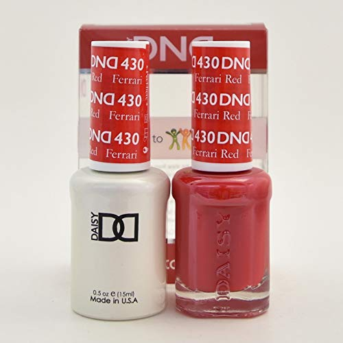 DNDDuo Gel (Gel & Matching Polish) Fall Set 430 - Ferrari Red