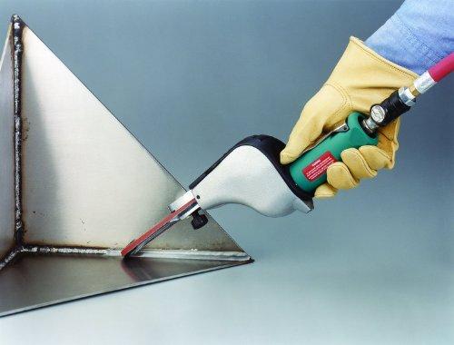Dynabrade 14000 Dynafile Abrasive Belt Tool, For 1/8-Inch - 1/2-Inch Width x 24-Inch Length Belts,Teal