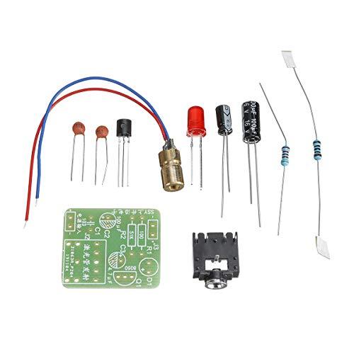 Modulo electronico Tubo SSY Componentes + PCB Junta de piezas transmisión de audio de recepción transmitiendo el transmisor inalámbrico kit de bricolaje electrónica audio Kit de 5 x