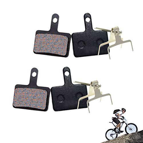 Pastillas de freno de disco de bicicleta para Shimano BR-M515 M525 M525...