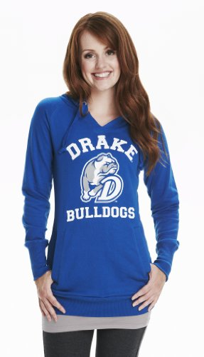 Unbekannt NCAA Damen Tunika Hoodie Drake Bulldogs, Damen, blau, Medium