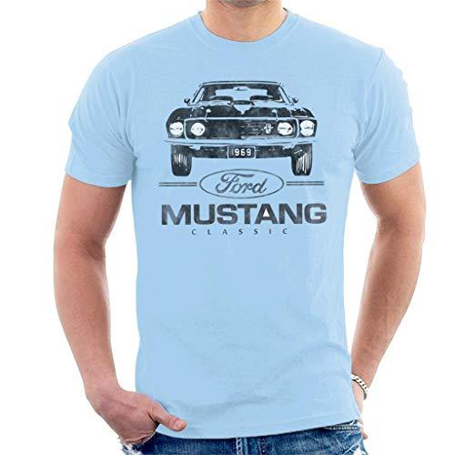Mustang Classic 1969 Plate - Camiseta para hombre