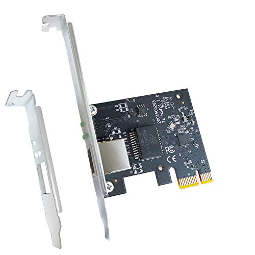 2.5GBase-T PCIe Network Card Up to 2500Mbps PCIe Ethernet Card for PC/Desktop Support Windows/Windows Server/Linux