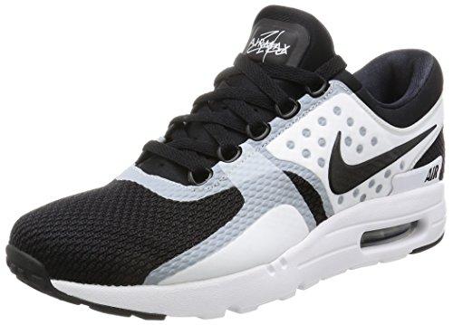 NIKE Men's Air Max LD-Zero Summit White/Black Wolf Grey Running Shoe 8.5 Men US