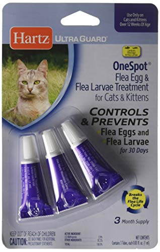 Spot On Flea Treatment For Cats Overdose