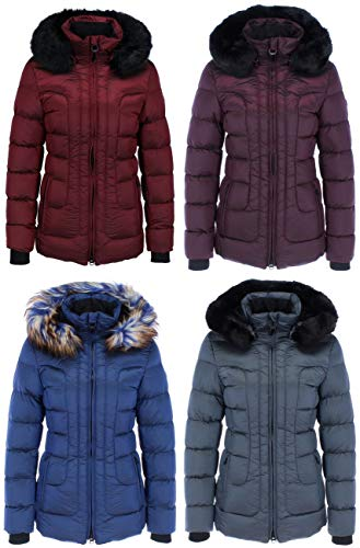 Wellensteyn Belvitesse Medium BVDM-877 Damen Winterjacke, Größe:L, Farben:Indium