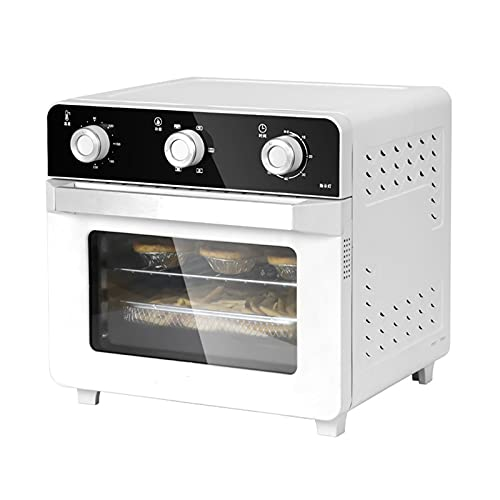 SDFD Household Countertop Flow Oven, Multifunctional High-power Oil-free and Space-saving Oven, Suitable for Air Frying, Grilling, Heating, and Toasting