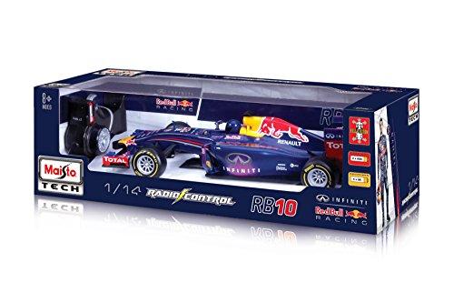 RC Auto kaufen Rennwagen Bild 3: Maisto 581252 - Ferngesteuertes Modellauto 1:14 Red Bull RB10 mit Sebastian Vettel*