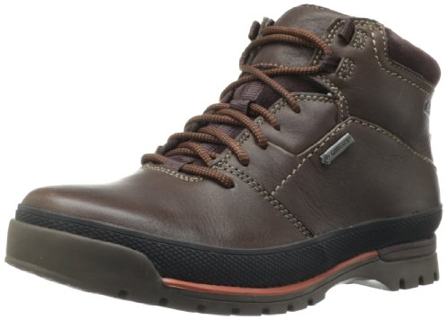 Hot Sale Clarks Men's Narly Trail GTX Boot,Brown Leather,12 M US