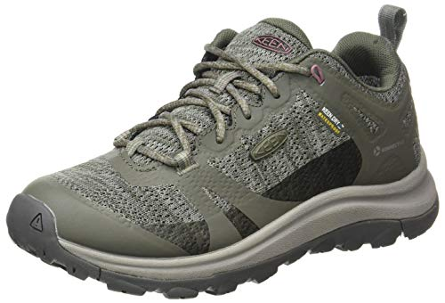 KEEN womens Terradora 2 Waterproof Low Height Hiking Shoe, Dusty Olive/Nostalgia Rose, 6.5 US
