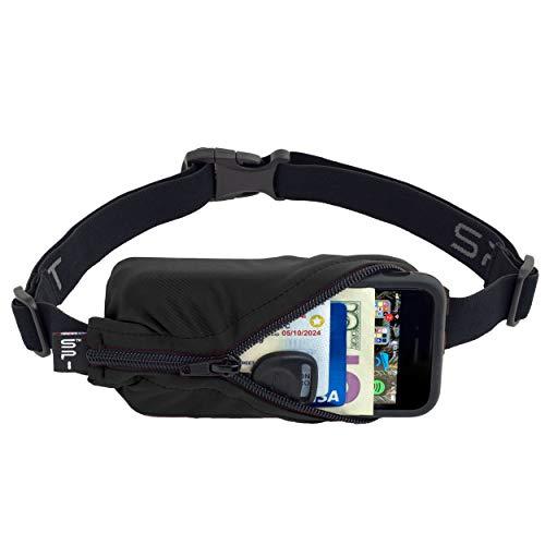 SPIbelt Running Belt Original Pocket, No-Bounce Waist Bag for Runners, Athletes Men and Women,...