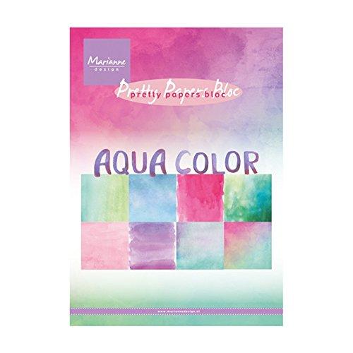 Motivpapier - Marianne Design - Aqua color
