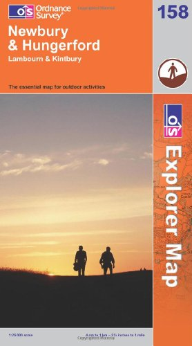 OS Explorer map 158 : Newbury & Hungerford