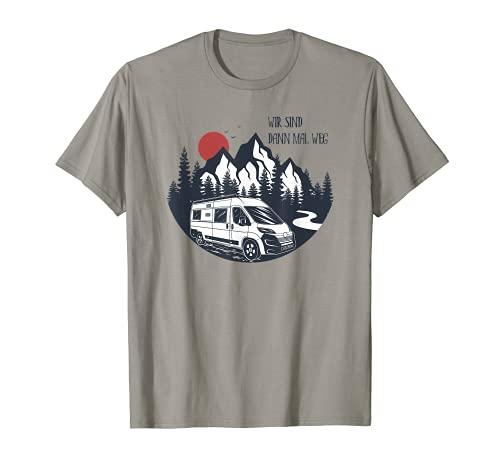 Kastenwagen Camping Shirt - Wir sind dann mal weg