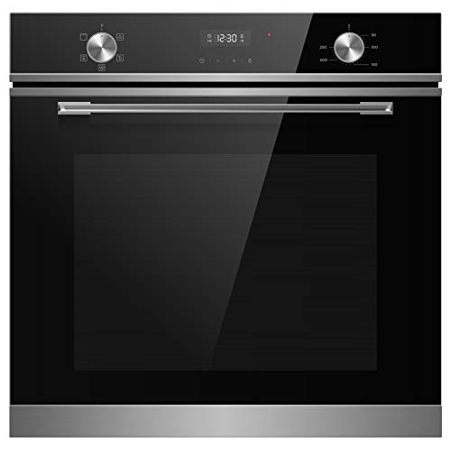 415dTBJxeNL. SS500  - Cookology TOF620SS Multi Function Touch & Dial Control, Built-in, Electric Oven, 72L