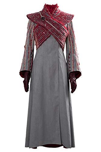 RedJade Game of Thrones Season 8 Daenerys Targaryen Cosplay Costume Personalizzazione