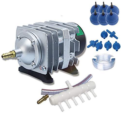 Hailea ACO-208 Set Luftkompressor Koi Teich Aquarium Belüfter Sauerstoffpumpe