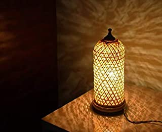 DC ECO Home Decor Bamboo Table lamp Gift Item.