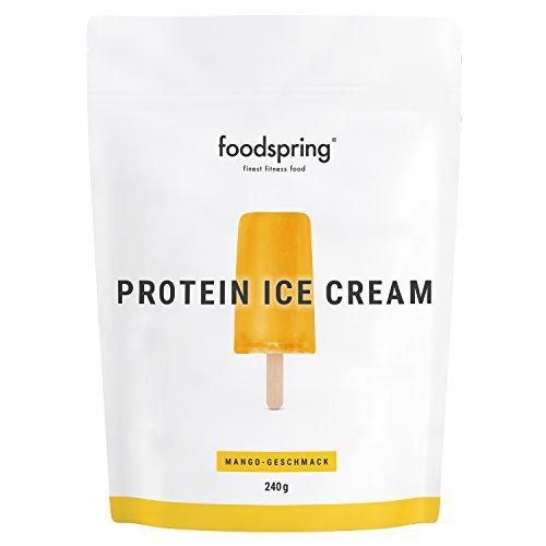 foodspring Helado Proteico, Mango, 240g, Tu polo de batido de proteínas