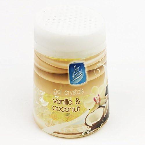 Pan Aroma Panaroma Gel Kristall Lufterfrischer Vanilla Coconut Küche Haushalt