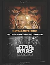 Coloring Book & Poster Collection: Star Wars Movie Posters The Phantom Menace Movies