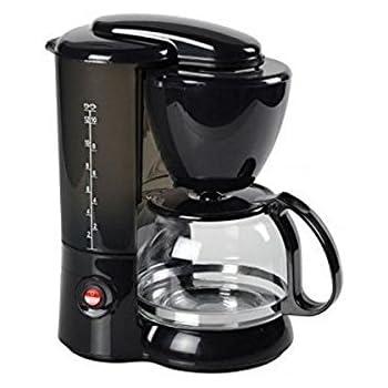 Eurowebb - Cafetera con filtro de gota (1,2 L), color negro: Amazon.es: Hogar