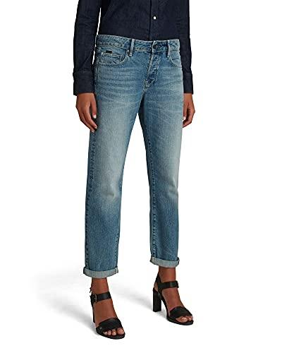 G-STAR RAW Womens Kate Boyfriend C Jeans, Faded Tide C779-C460, 30W / 34L