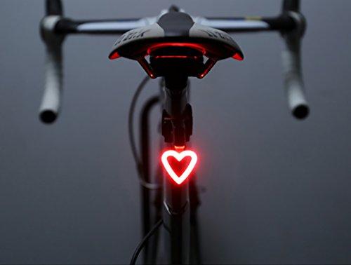 FREEMASTER luces traseras LED bicicleta Luz Trasera para bicicleta USB