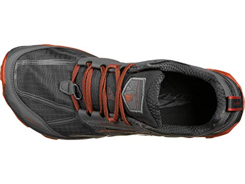 ALTRA Men's AFM1855F Lone Peak 4.0 Trail Running Shoe, Gray/Orange - 13 D(M) US