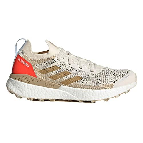 adidas Terrex Two Ultra PRIMEBLUE, Zapatillas de Trail Running Hombre, BLAMAR/Mesa/Rojsol, 44 2/3 EU