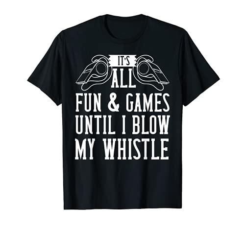 Referee Ref - Silbato de regalo para mujer Camiseta