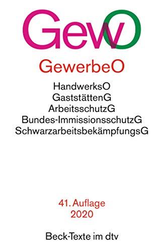 Gewerbeordnung GewO (Beck-Texte im dtv)