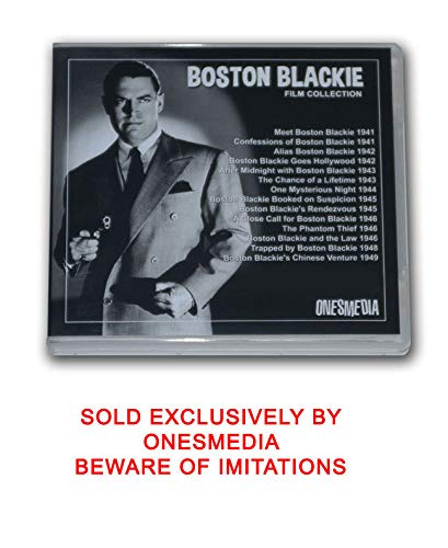 BOSTON BLACKIE FILM COLLECTION - 14 MOVIES - 7 DVD-R by Chester Morris