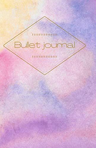 Bullet journal.: Cuaderno puntos 80 páginas.