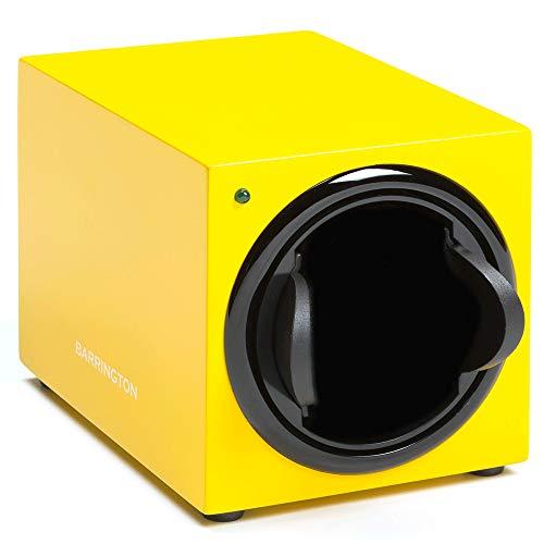 Barrington | Uhrenbeweger Box für Einzeluhren - Electric Yellow Standardkissen