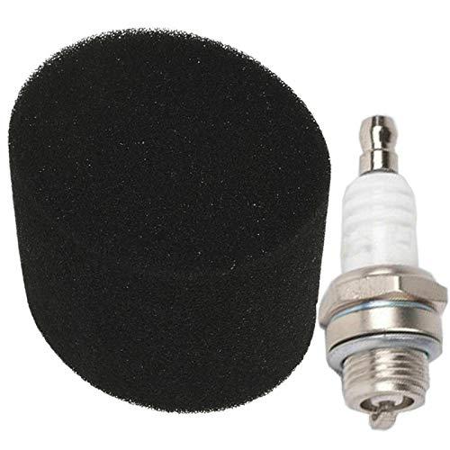 SPARES2GO Air Filter + Spark Plug Kit voor Qualcast grasmaaier