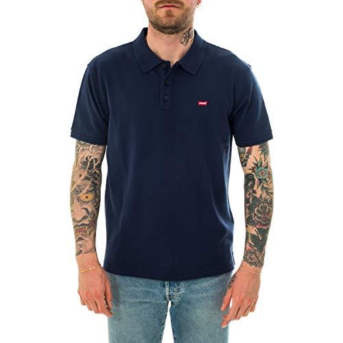 Levi's Herren Housemark Polo Poloshirt, Dress Blues, L