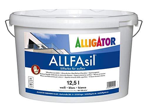Alligator ALLFAsil gevelverf wit 12,5 L