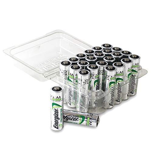 Energizer Recharge AA Power Plus Akkus in praktischer Batteriebox von Weiss - More Power +   24 Stück