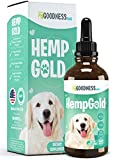 Fur Goodness Sake Hemp Oil for Dogs - Remedy for Dog Anxiety Relief, Hemp for Dogs Calming, Cat and Dog Anxiety Relief, Pain Relief, Cat Stress Relief, Pet Mobility and More - Just Add to Treats