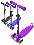 SMIZZE Deluxe - Scooter for Kids Age 3-9 - Adjustable Balance Mini...