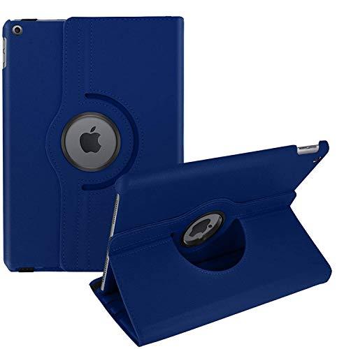 AKASHI TECHNOLOGY - Funda para iPad 10.2 2020, 2019, Integral Anticaídas, Antigolpes, con Soporte para Tablet, Orientación 360º, para iPad 8 2020, iPad 7 2019 10.2 ' (Azul)