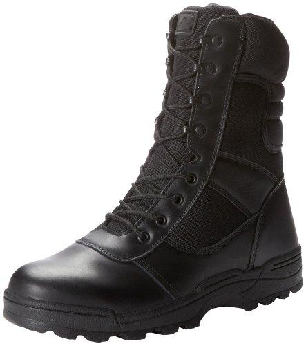 Ridge Footwear Dura-MAX Zipper - Botas de Trabajo para Hombre, Negro (Negro), 9 D(M) US ✅